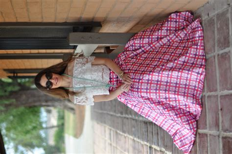 gingham to the max high heels tutus