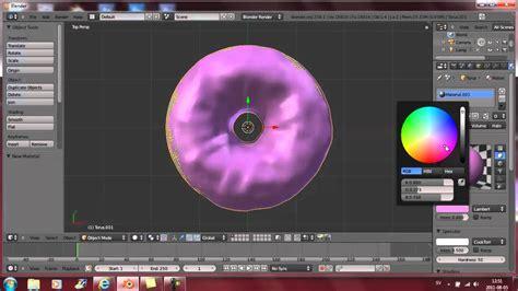 youtube tutorial blender blender tutorial create mr donut youtube