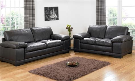 Black Leather Sofa Sets Will Add New Look To Living Room Black Leather Living Room Furniture Sets