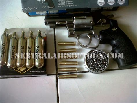 Jual Pistol Resmi Soft Gun by Wingun Revolver 2 5 Use Mimis Airgun
