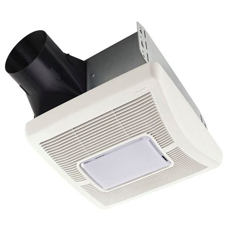 Bathroom Exhaust Fans With Light Broan Invent Series 110 Cfm Ceiling Bathroom Exhaust Fan With Light A110l The Home Depot