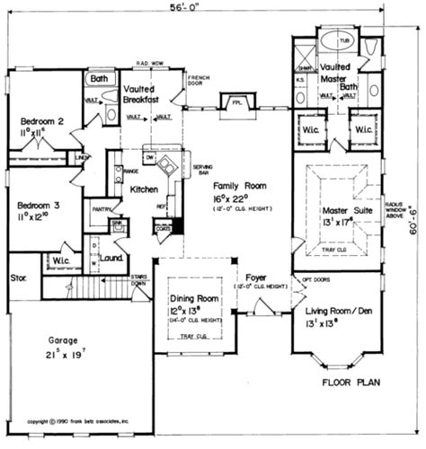 house plan 20003 at familyhomeplans com floor plans 2000 sq ft bungalow