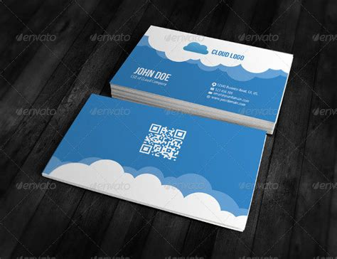 25 cloud business card templates free premium