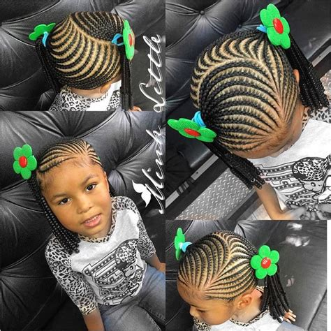 Little girl braiding styles   #teamnatural   Pinterest