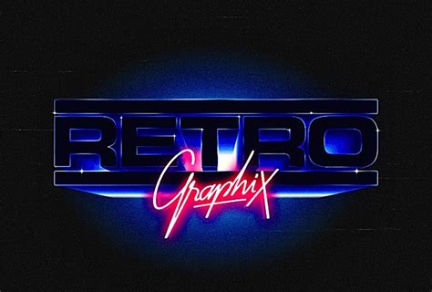 80s typography tutorial 80 s logo collection