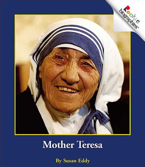 mother teresa biography book summary mother teresa by susan eddy paperback barnes noble 174
