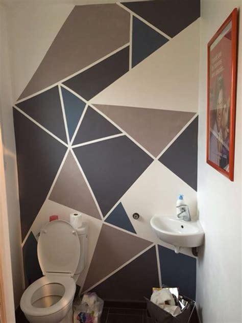 Idee Deco Exterieur Maison 4490 by Peinture Murale Triangles G 233 Om 233 Trique Mes Cr 233 Ations