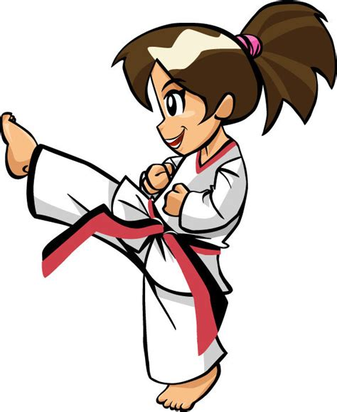 wallpaper animasi taekwondo search results for gambar kartun taekwondo