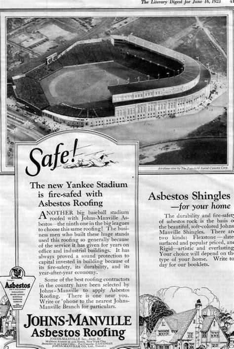 This Ad From 1923 Boasts The Brand New Yankee Stadium's