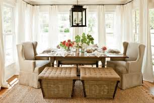 Dining Curtain Designs Inspiration 30 Unassumingly Chic Farmhouse Style Dining Room Ideas