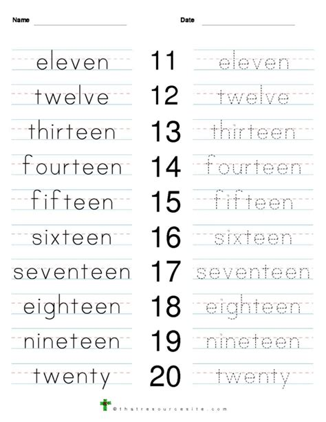 printable numbers in words 1 to 100 tracing number words 1 10 worksheets craftsactvities and