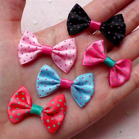 Rhinestone Bow Knot Pearl Dust Pluggy For 35mm Bg0628lc make fabric bows promotion shop for promotional make fabric bows on aliexpress