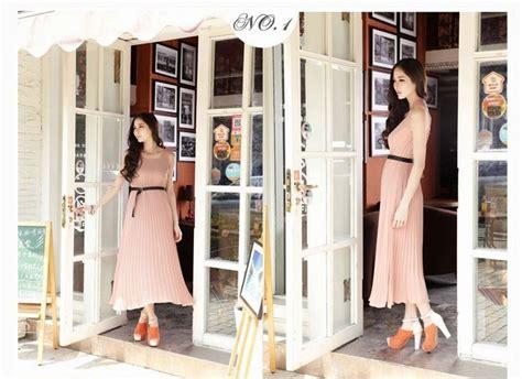 Dress Import Murah A30906 Pink picture longdress brukat newhairstylesformen2014