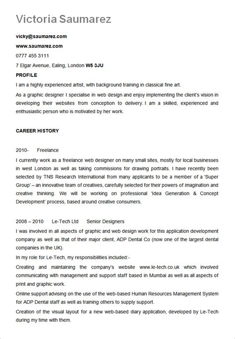 Resume Template For A Best Resume Formats 40 Free Sles Exles Format
