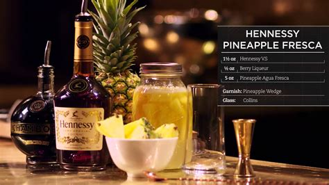 hennessey mix hennessy recipes pineapple fresca