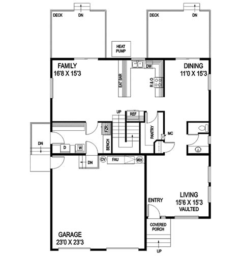 Saltbox House Floor Plans Saltbox House Floor Plans Cottage House Plans