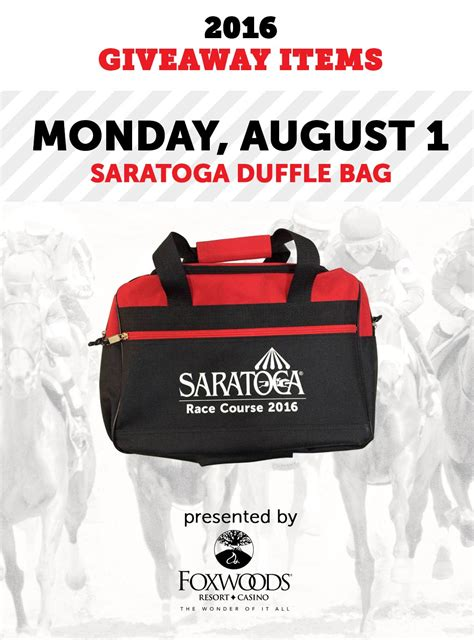 Saratoga Springs Race Track Giveaways - visit saratoga racing tourism travel guide to saratoga springs rachael edwards
