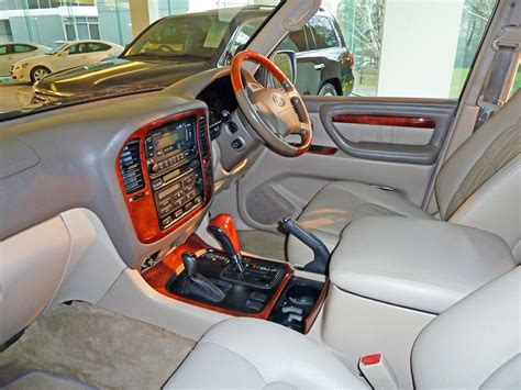 lexus wagon interior 2000 lexus lx 470 information and photos zombiedrive