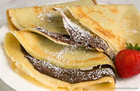 Simple Crafts For Home Decor easy stuffed chocolate hazelnut nutella crepes recipe video
