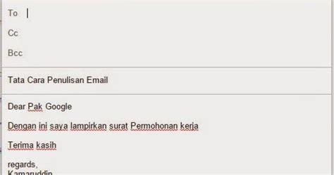proposal membuat hotspot tata cara penulisan email yang baik dan benar