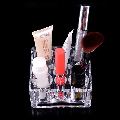 Makeup Organizer Tipe G clear type acrylic cube lipstick cosmetic