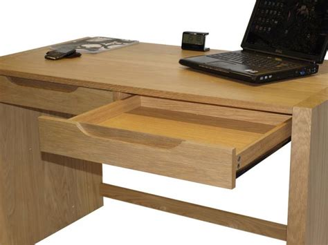 Alphason Butler Oak Home Office Desk Solid Oak With Oak Desks For Home Office