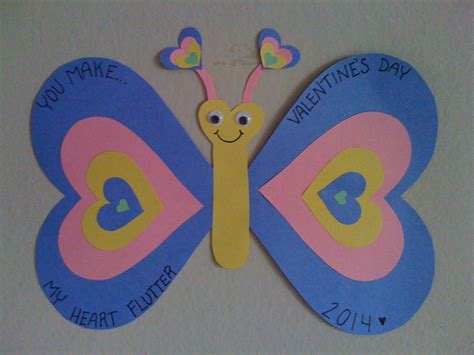 Construction Paper Valentines Day Crafts - craft for easy preschool s day