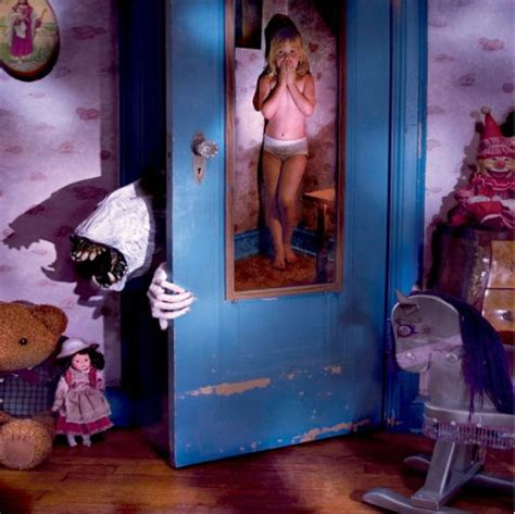 Monsters Inc Closet by 10 Awesome Horror Photos Featuring Childhood Fears