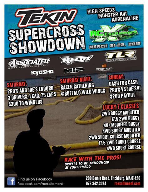 motocross races this weekend tekin supercross showdown at rc excitement