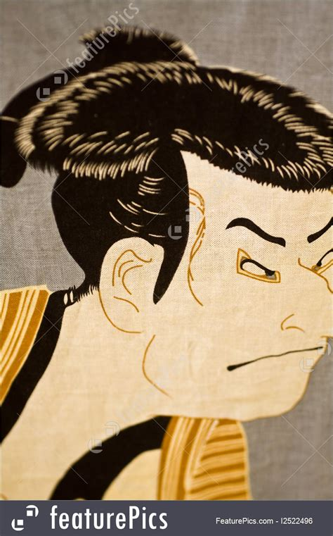 Traditional Japanese Drawings Painting Japanese Traditional Painting Stock Photo