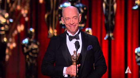 J A V Actor j k simmons winning best supporting actor