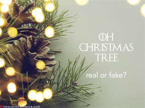 he said she said do you get a real or fake christmas