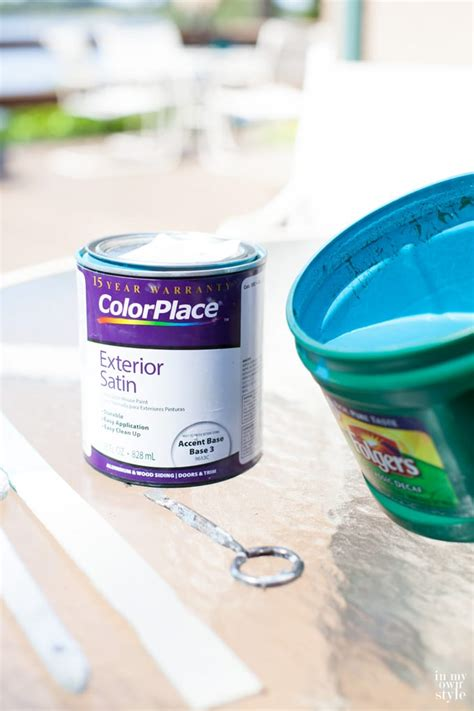 diy chalk paint outside outdoor chalk paint in my own style