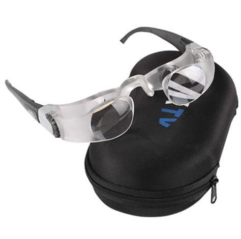 free portable fishing magnifying glasses 2 1x max tv