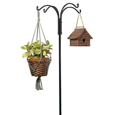arm yard pole bird feeder hanger garden hanger miles