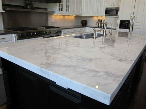 White And Grey Countertops by Statuary Marble White Quartz Countertops Kitchen