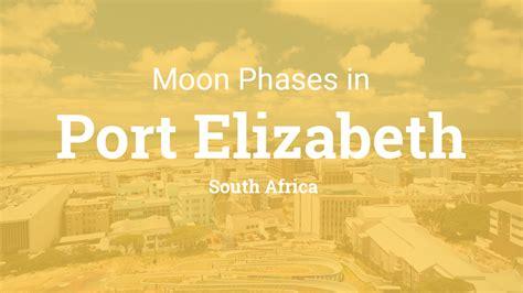 moon phases  lunar calendar  port elizabeth south africa