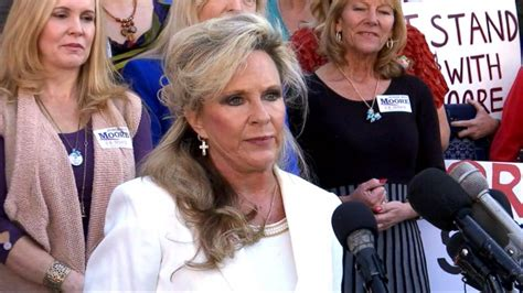roy moore current news wife of senate candidate roy moore speaks out video abc news