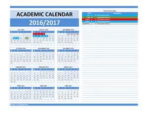 2018 Calendar Same As 2017 2018 And 2016 2017 School Calendar Templates Excel