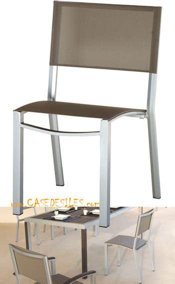 Chaise Jardin Alu by Chaise De Jardin Aluminium Casedesiles