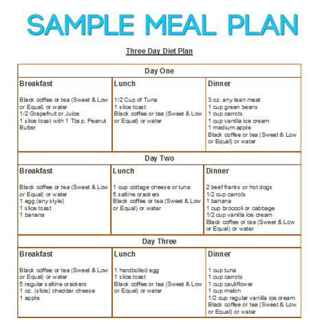3 Day Diet DietDiet.com
