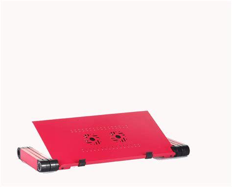 Meja Laptop Portable Aluminium With Cooler Big Fan Mousepad Al 0648 high quality aluminium multifunction foldable amazing