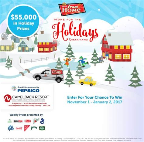 Home For The Holidays Sweepstakes - sweepstakeslovers daily cabela s hgtv magazine shoprite more
