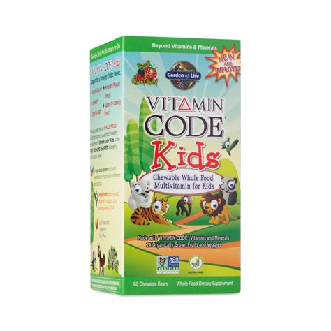 Garden Of Multivitamin Reviews Vitamin Code 174 Kid S Multivitamin By Garden Of