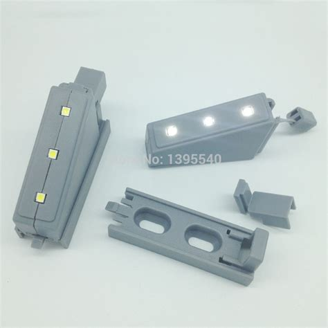 Lu Led Hinge Kabinet new 10pcs overlay kitchen bedroom led hinge light living room cabinet cupboard closet