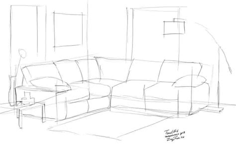 how to draw a couch step by step how to draw a sofa step by step arcmel com