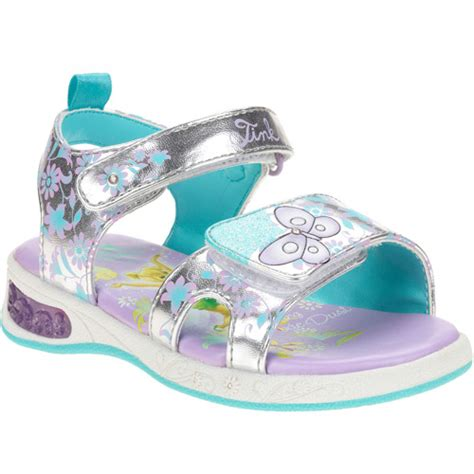 light up shoes for walmart disney toddler tinkerbell light up sandals shoes