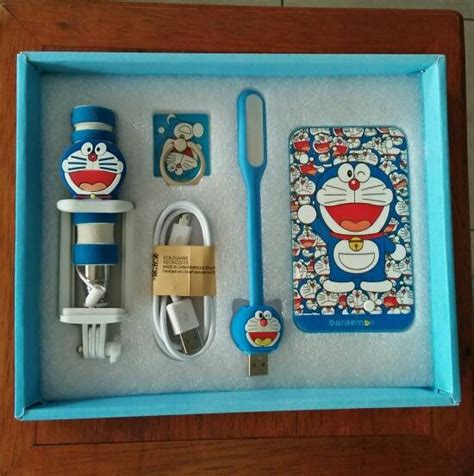 Paket Power Bank Doraemon by Jual Beli Paket Karakter Power Bank Doraemon Baru