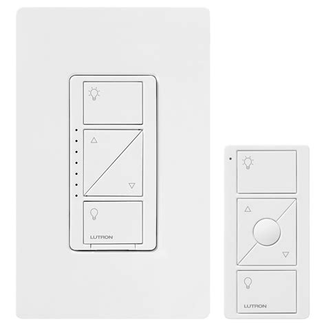 lutron dimmer lutron caseta wireless in wall dimmer with pico remote