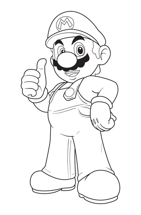 mario coloring pages 04
